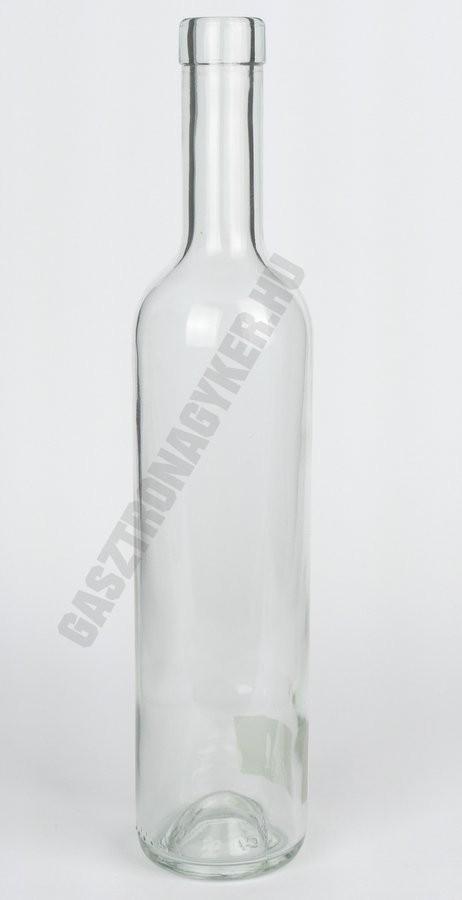 Pálinkás üveg 500 ml Futura