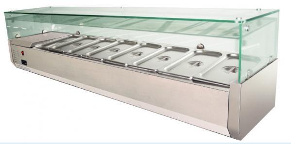 Feltéthűtő (8× GN1/3) VRX395/1800