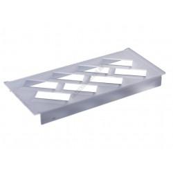 Szendvicsjégkrém állvány, 8 db-os, 165x360x27 mm, plexi