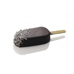 Jégkrémforma fapálcikákkal, mini, 16 adag, szilikon