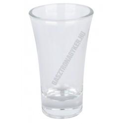 Xénia pálinkás pohár 75 ml, üveg