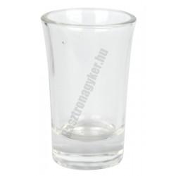 Y pálinkáspohár 40 ml, üveg
