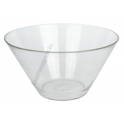 Salátástál 27 cm 4500 ml üveg