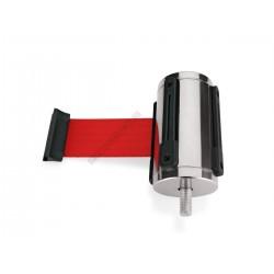 Szalagkazetta, króm, 2 m piros szalag, Highflex