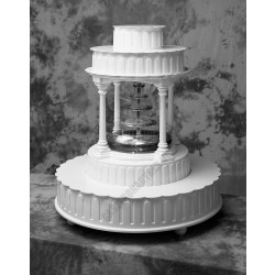 Tortaállvány, 3 emeletes, Fountain