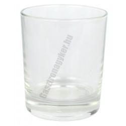 Gladky whiskys pohár 250 ml, üveg