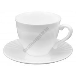Cadix teáscsésze 2,2 dl +alj, üveg