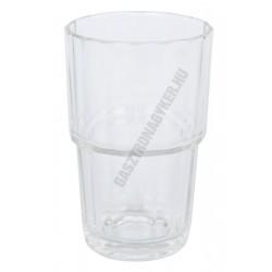Norvege vizespohár 270 ml, üveg, szilánkmentes törés