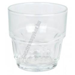 Lola vizespohár 160 ml temperált üveg, sorolható