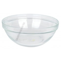 LYS tálka 1 liter 17 cm sorolható üveg