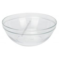 LYS tál 1,6 liter 20,5 cm sorolható üveg