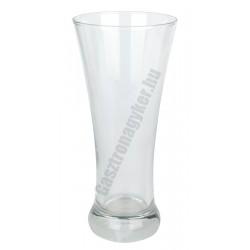 Sorgun sörös pohár 360 ml, üveg