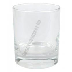 ADA whiskys pohár 215 ml, üveg