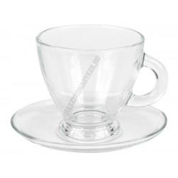 Roma Kávéscsésze+oval alj 225 ml