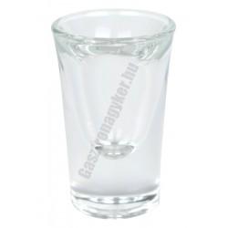 Cheerio pálinkás pohár, 34 ml, üveg