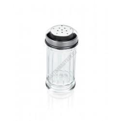 Sószóró, 4,5x9,5 cm, üveg