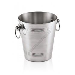 Pezsgősvödör, 3,7 l, 19x20 cm, alumínium
