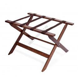 Bőröndtartó, 67x45,5x41,5 cm, összecsukható, fa