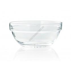 Empilable tál, 17 cm, 1,1 liter, üveg, sorolható