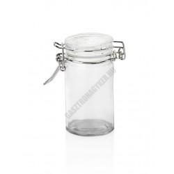 Swing csatos üveg, befőttes, 0,1 liter, 4,5x8,5 cm