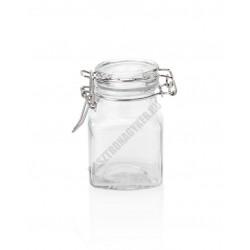 Swing csatos üveg, befőttes, 0,1 liter, 4x8 cm