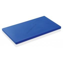 Vágólap, 60x40x2 cm, kék, 6 gumitalpacskával