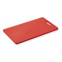 Vágólap fülkivágással, 40x25x1,2 cm, piros, polipropilén