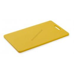 Vágólap fülkivágással, 40x25x1,2 cm, sárga, polipropilén