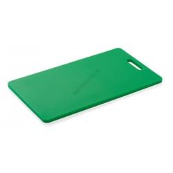 Vágólap fülkivágással, 40x25x1,2 cm, zöld, polipropilén