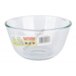 Simax Hőálló jénai kocsonyás tál edény 0,5 liter