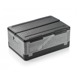 Thermoláda, összecsukható, GN 1/1 méret, fekete