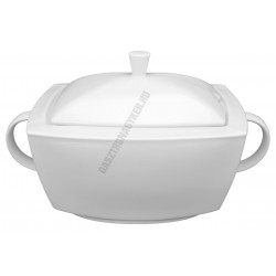 Victoria levesestál+fedő 2,7 liter szögletes