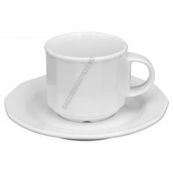 Mercury teáscsésze+alj 14 cm 0,20 liter