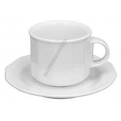 Mercury cappuccinoscsésze+alj 14 cm 1,5 dl
