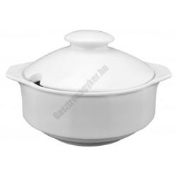 Mercury levestál+fedő 3 liter, porcelán