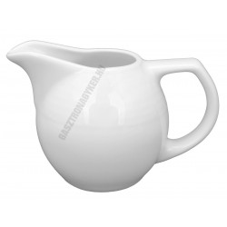 Saturn tejkiöntő 0,15 l, fehér porcelán