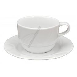 Karizma teacsésze + alj 0,23, porcelán