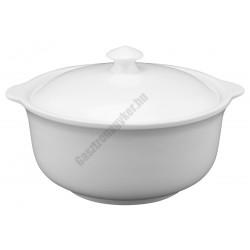 Levestál fedővel 2,0 liter porcelán
