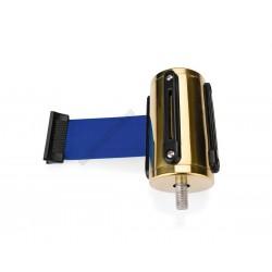 Szalagkazetta, arany színű, 2 m kék szalag, Highflex