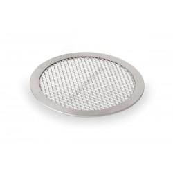 Pizzasütő, 20 cm, perforált, kerek, alumínium