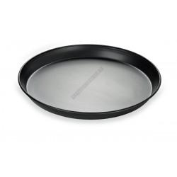 Pizzaforma, felső átm.: 22 cm, alsó átm.: 20 cm, kékvas