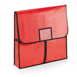 Pizzaszállító táska, 58x58x11 cm, alumínium bélés