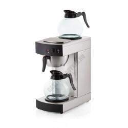Elektromos kávéfőző, 2x1,8 l üveg kávéskannával