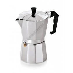 Espresso kávéfőző, 300 ml, indukciós, 10x19 cm, alumínium