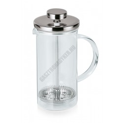 French press kávé- és teafőző, 1 liter, 10x20,5 cm