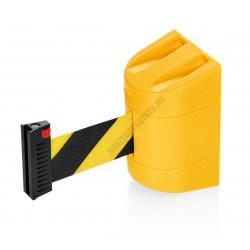 Szalagkazetta, fali kordon, 2 m sárga fekete szalag, Lightflex