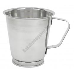 Mérőkancsó 0,5 liter, rozsdamentes
