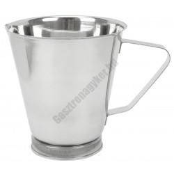 Mérőkancsó 1 liter, rozsdamentes