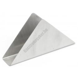 Szalvétatartó 15×3×7,5 cm, háromszög