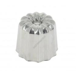 Canelé Bordelais sütőforma, 4,5x4,2 cm, rozsdamentes